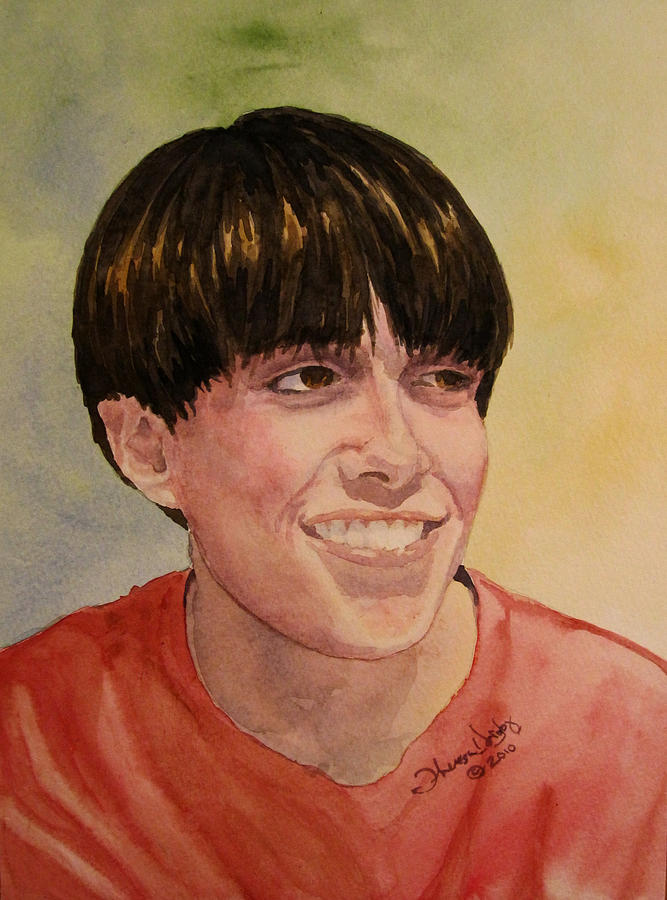 Portraits Painting - Sean by Theresa Higby