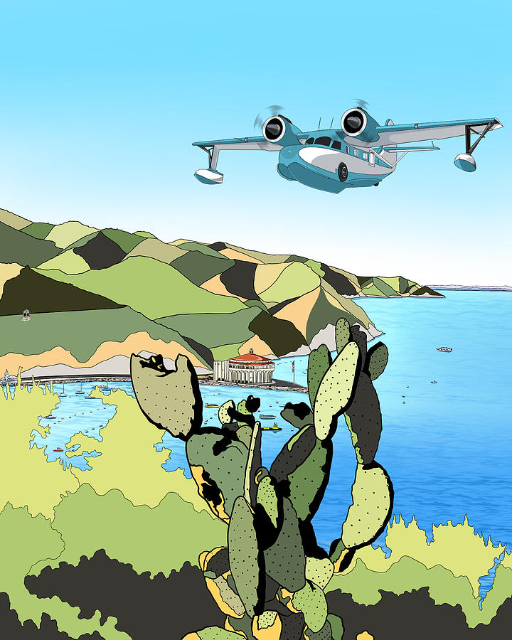 Seaplane Digital Art - Seaplane 3 by Carlos Martinez