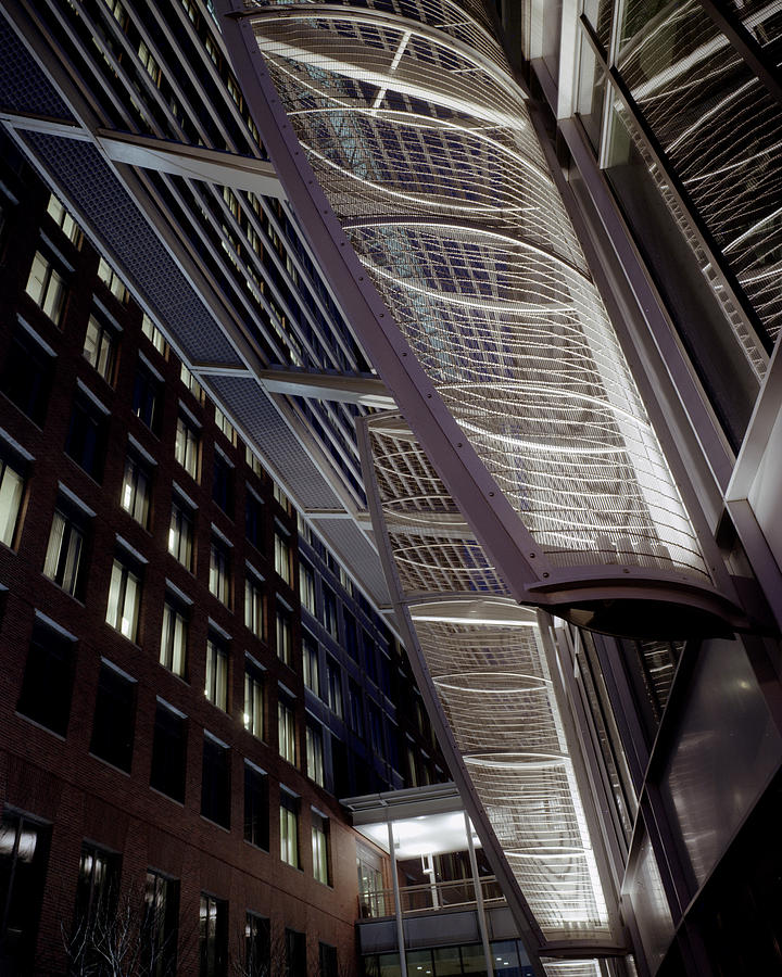 Architecture Photograph - Seaport2 by Robert Ruscansky