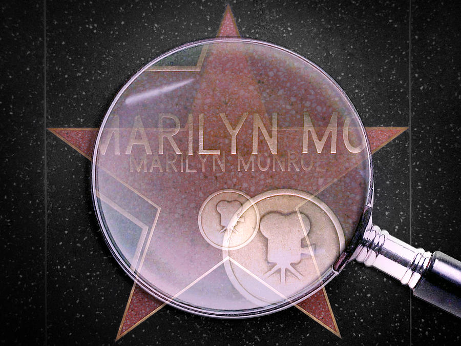 Hollywood Digital Art - Searching For A Star by Az Jackson