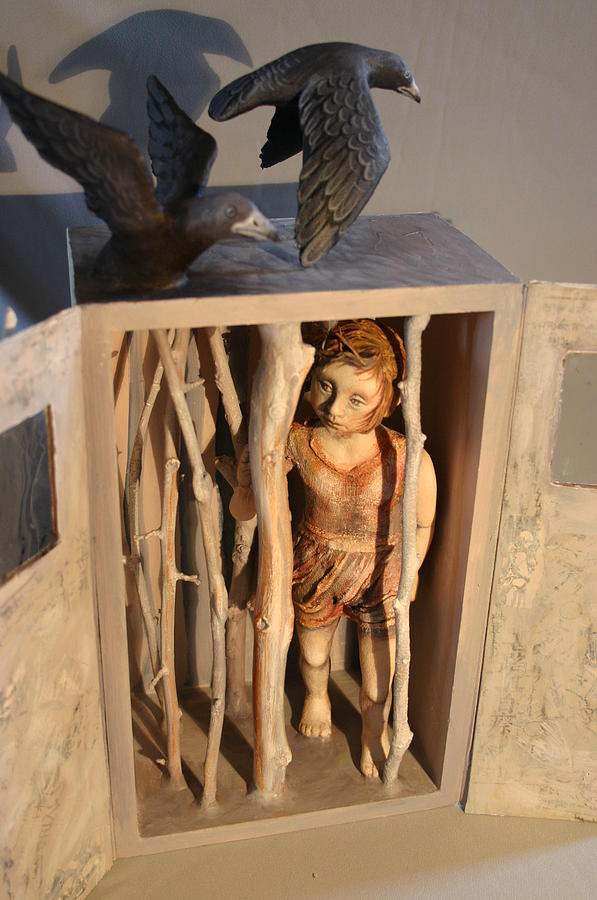 Surreal Sculpture - Searching For Arbley Trilder Open by Susan McMahon