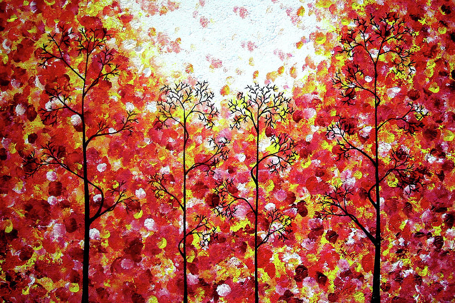 Abstract Painting - Searching For Spring by Daniel Lafferty
