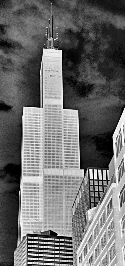 Sears Tower Photograph - Sears Tower by Ely Arsha