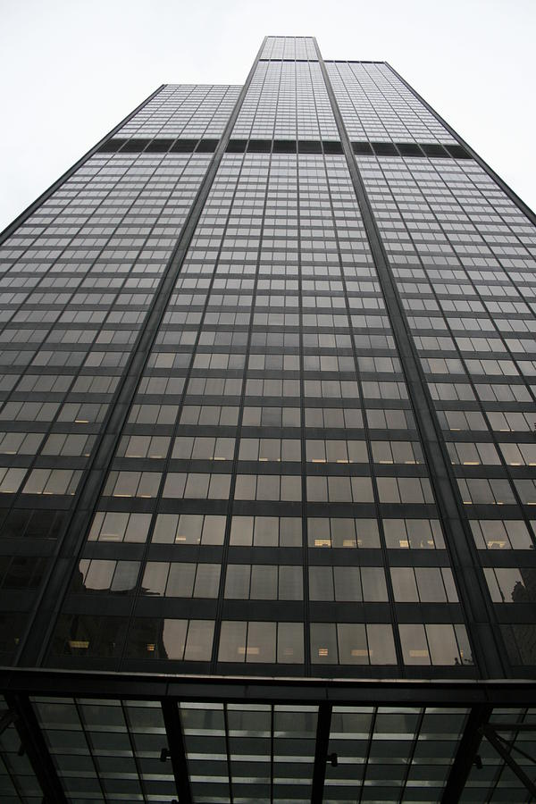 Sears Tower Photograph - Sears Willis Tower by Christopher Kirby