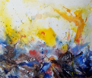 Seascape Painting - Seascape 2 by Moray Watson
