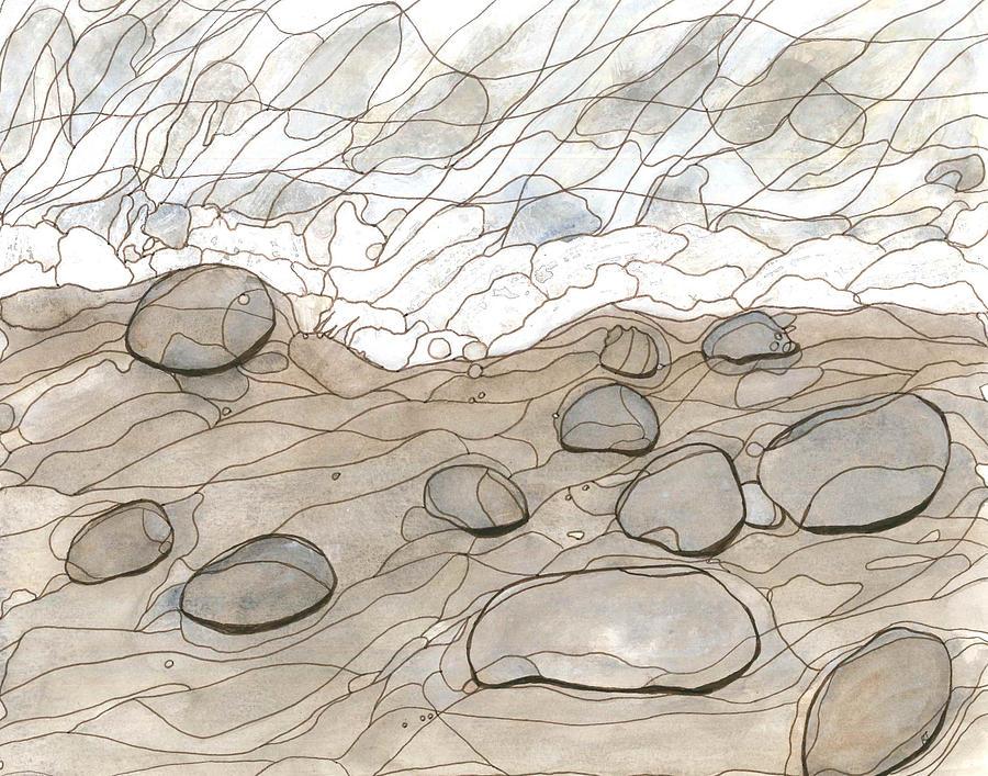 Ocean Painting - Seascape #2 by Katie Ree