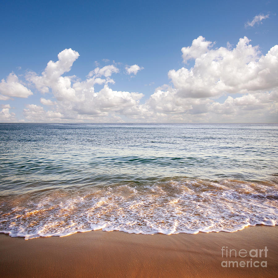 Background Photograph - Seascape by Carlos Caetano