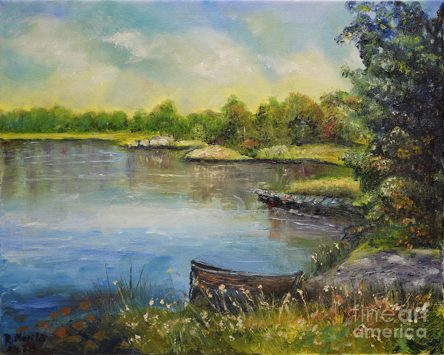 Seascape from Hamina 4 by Raija Merila