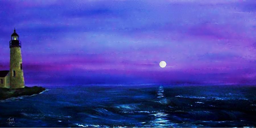 Seascape Painting - Seascape II by Tony Rodriguez