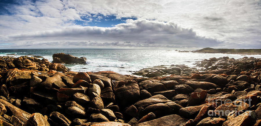 Water Photograph - Seascape In Harmony by Jorgo Photography - Wall Art Gallery