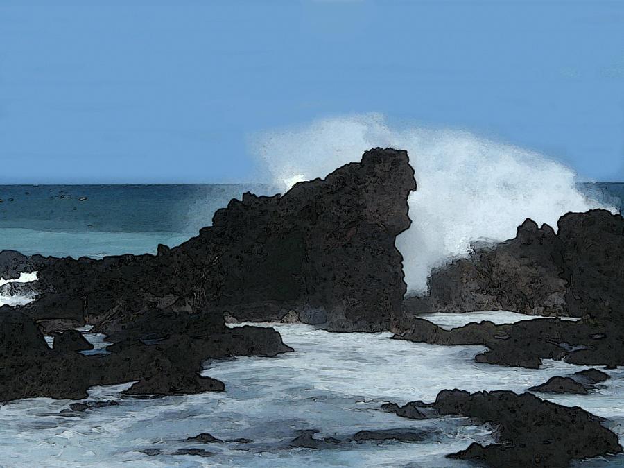 Seascape by michaelalonzo kominsky