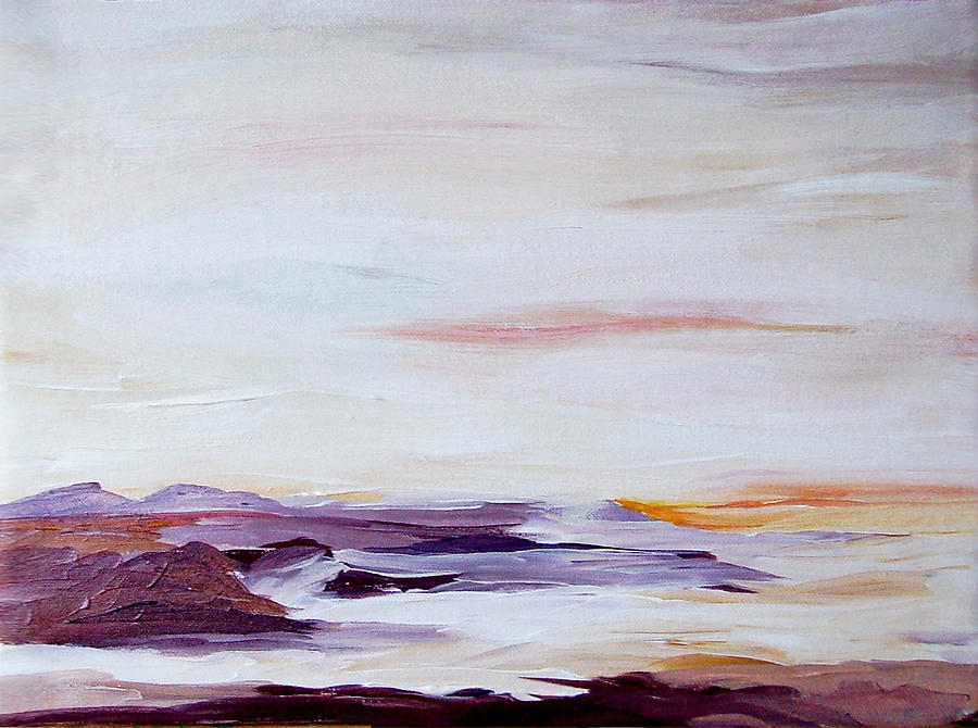 Seascape Nr 2 Painting by Carola Ann-Margret Forsberg