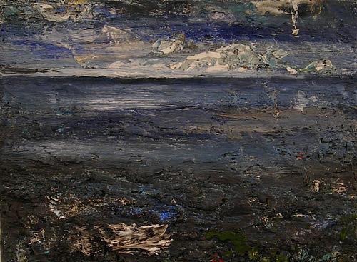 Seascape4592 Painting by Christophe Muylaert