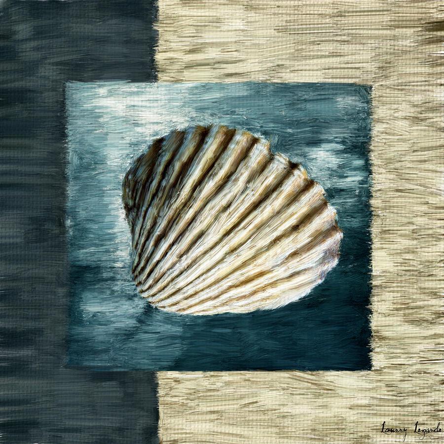 Shell Digital Art - Seashell Souvenir by Lourry Legarde