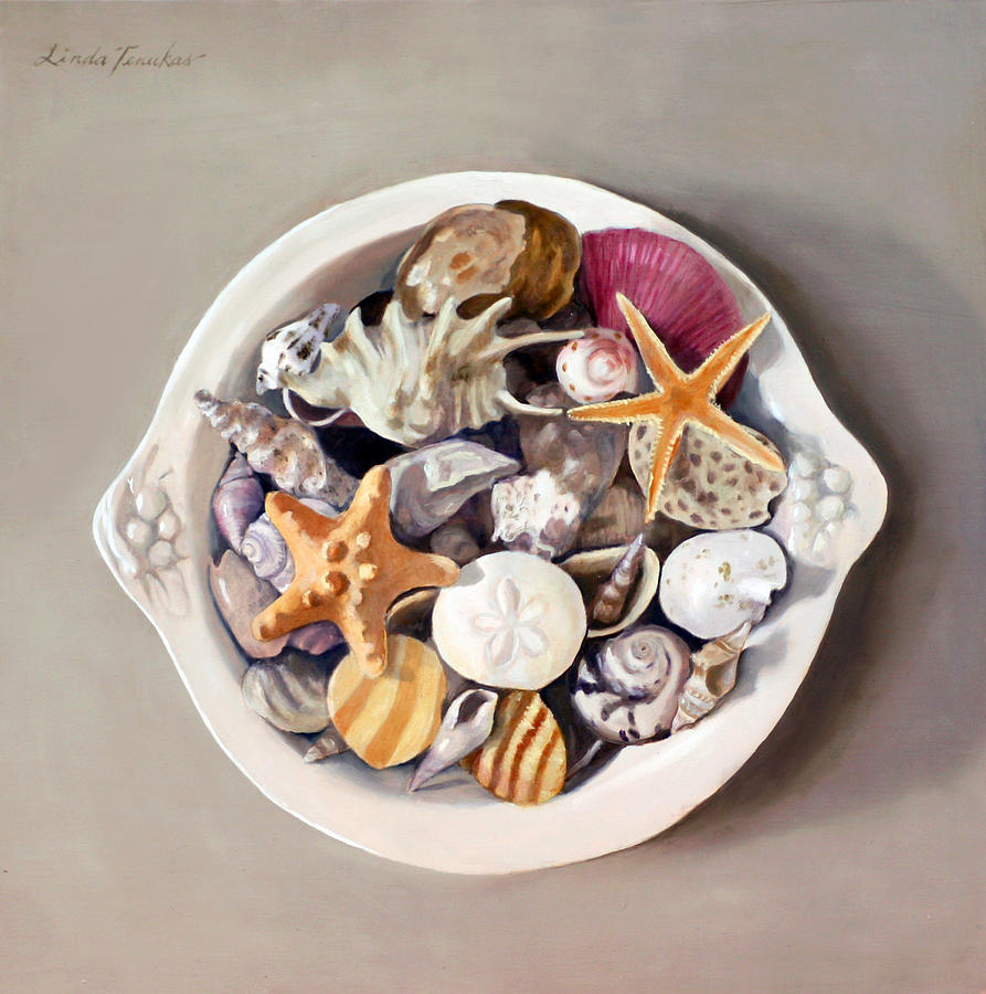 Seashells by Linda Tenukas