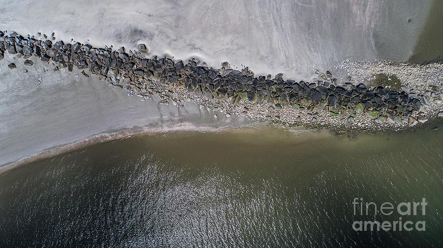 Seashore Rocks by Richard Amble