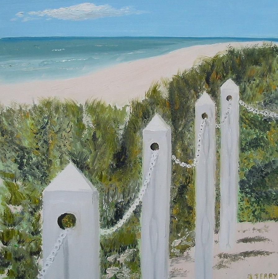 Seascape Painting - Seaside II by John Terry