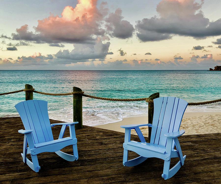 Seaside Photograph - Seaside In Antigua by Sean Mills