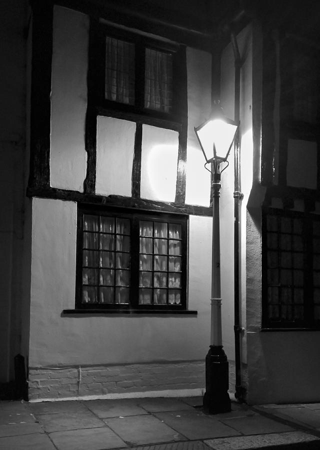 Seaside lampost by Jenny Setchell