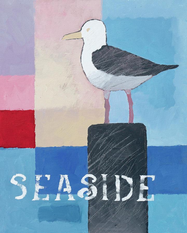 Seaside Seagull by Lutz Baar