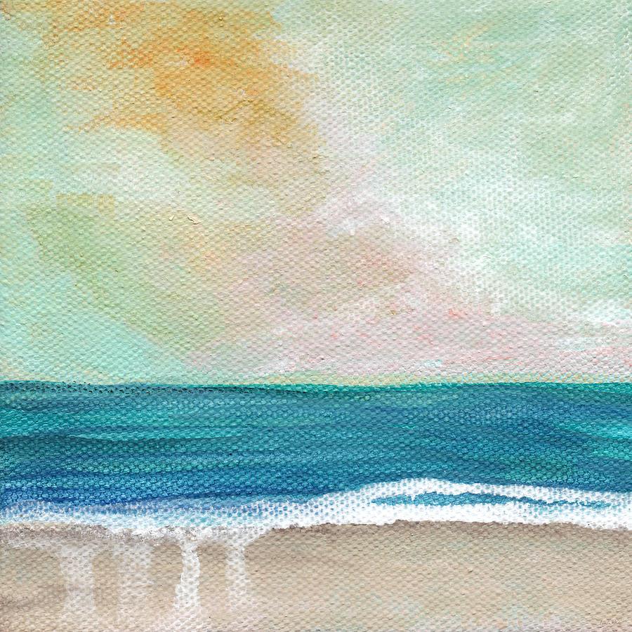 Seaside Sunset- Expressionist Landscape Painting