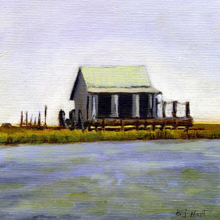 Seaside Waterman's Cabin by BARBARA J HART