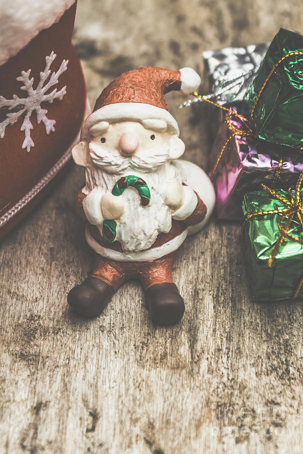 Santa Photograph - Seasons Greeting Santa by Jorgo Photography - Wall Art Gallery