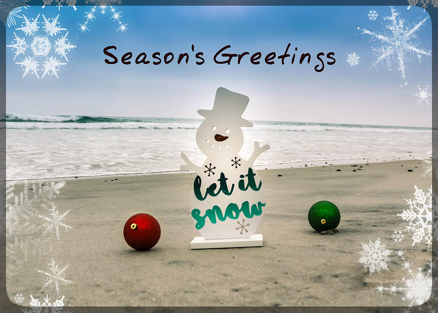 Seasons greetings photograph by alison frank beach photograph seasons greetings by alison frank m4hsunfo
