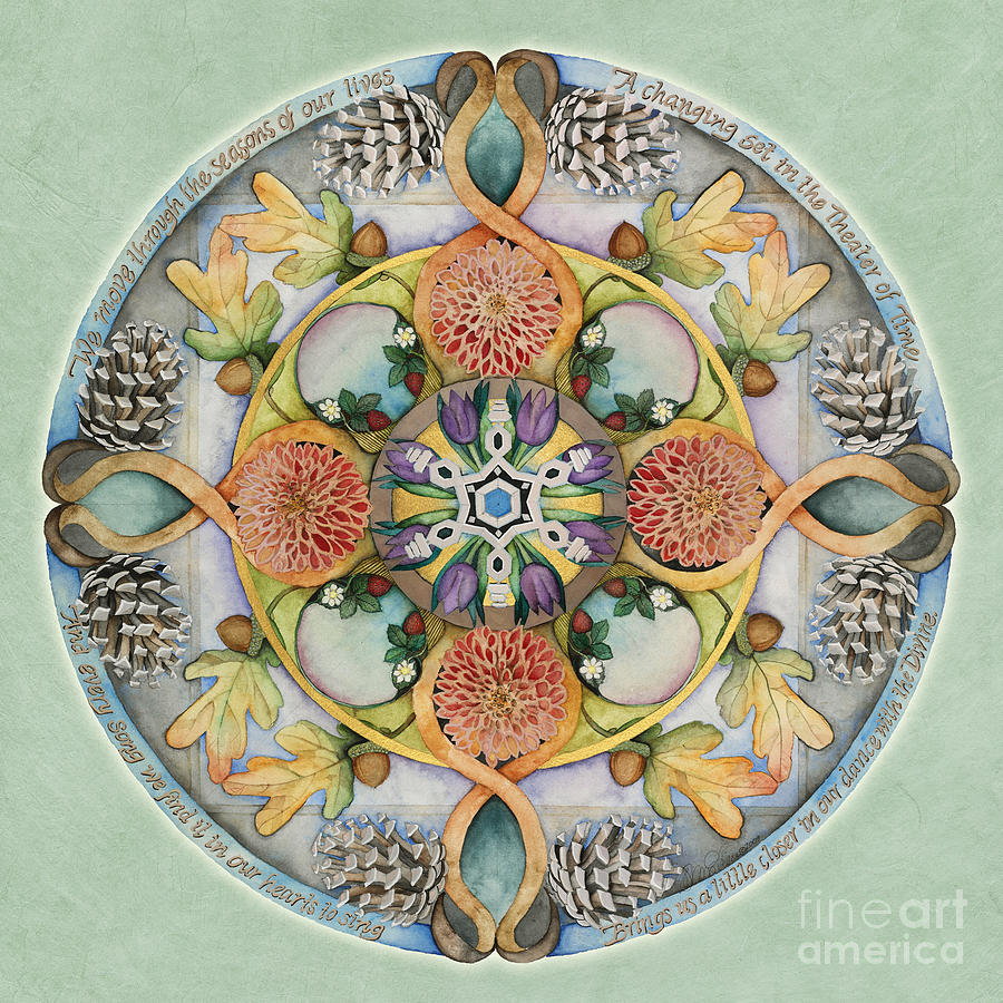 Seasons Mandala by Jo Thomas Blaine