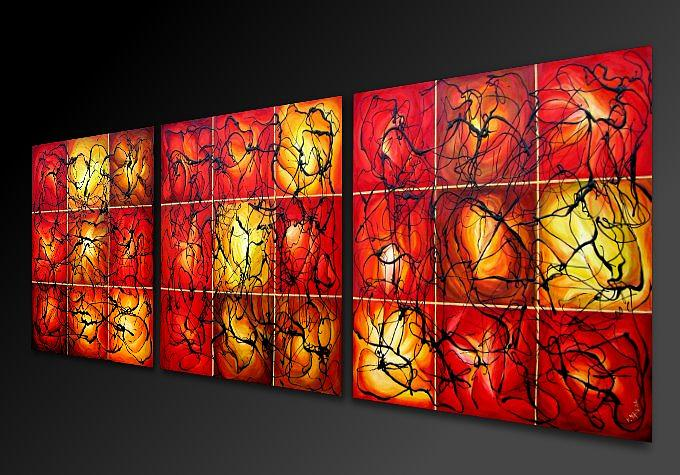 Abstract Painting - Seasons Of The Earth by Eugenia Mangra