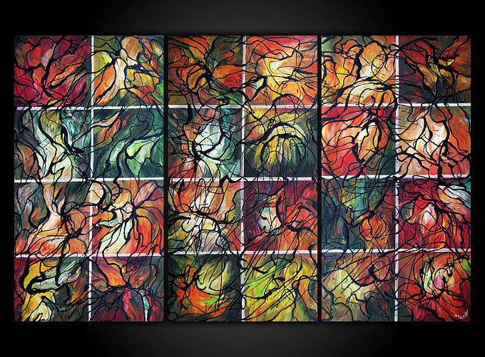 Painting Painting - Seasons Of The Soul by Eugenia Mangra