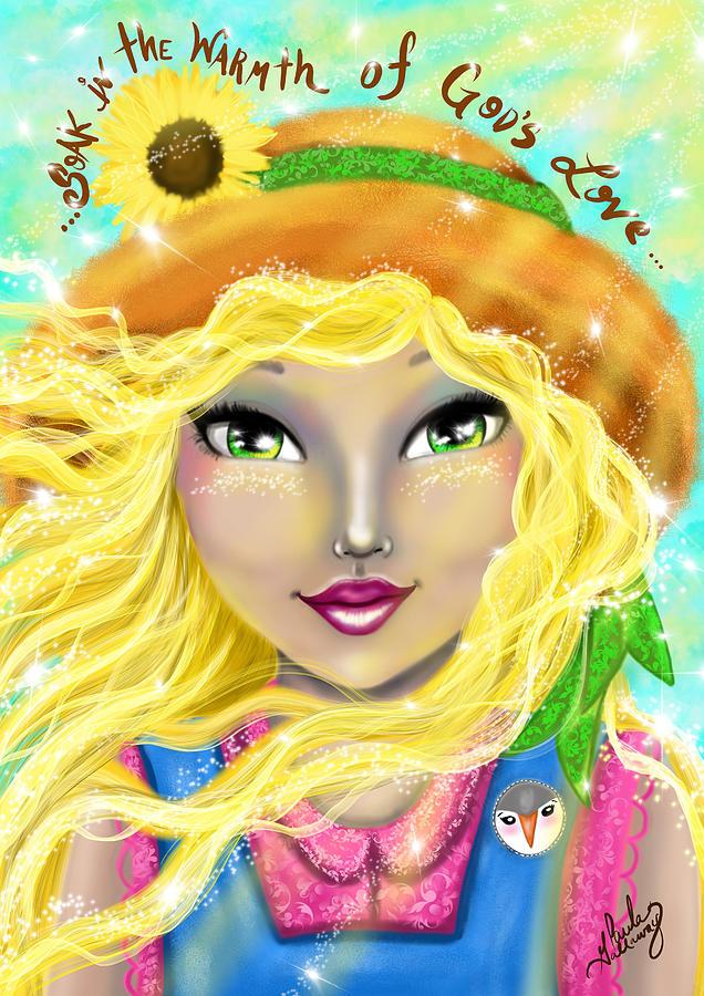 Summer Digital Art - Seasons Of Wonder Summer by Paula Gallaway