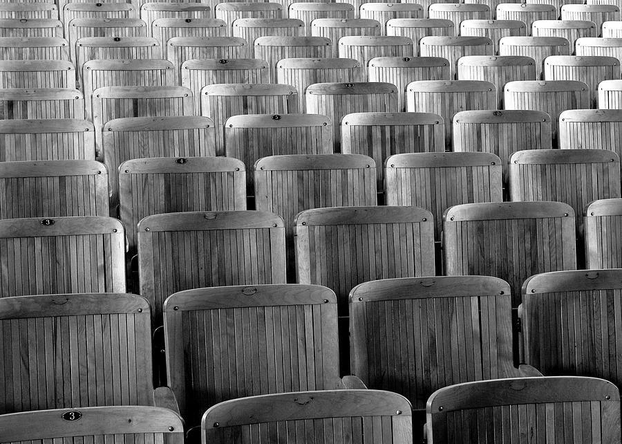 Seats Photograph - Seat Backs by Todd Klassy