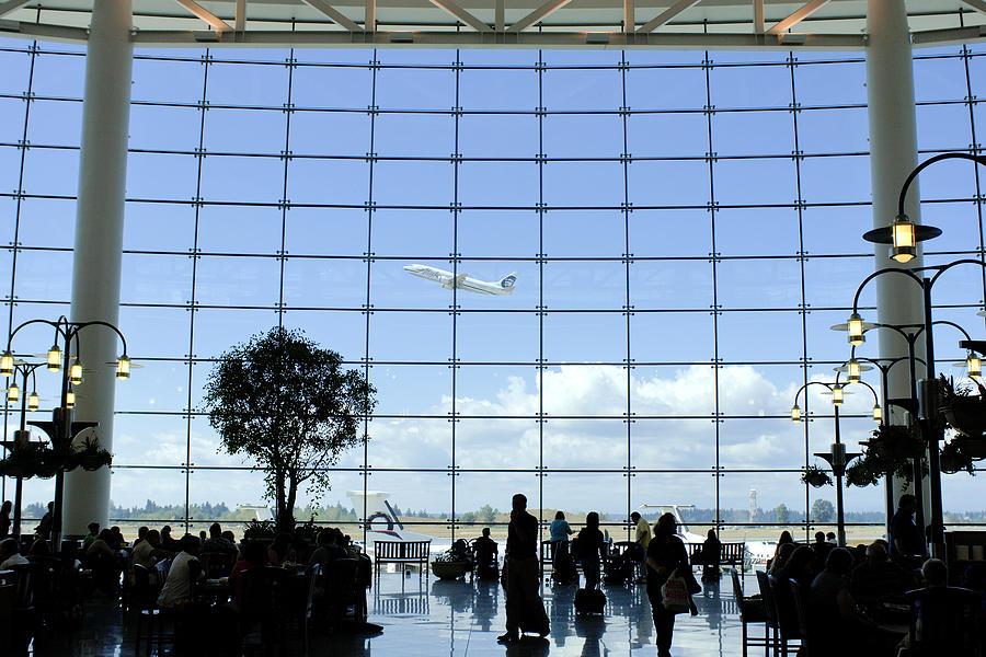 Aircraft Photograph - Seatac Airport K088 by Yoshiki Nakamura