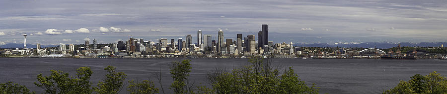 Seattle Photograph - Seattle At Its Best by James Heckt