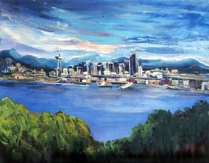 Seattle Blue by Carla Dreams
