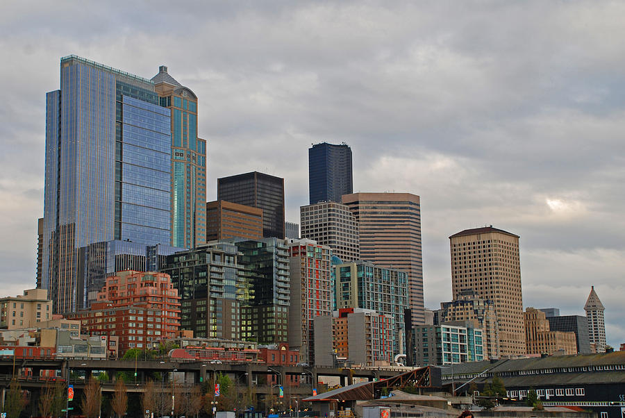 Seattle Photograph - Seattle  by Carol  Eliassen