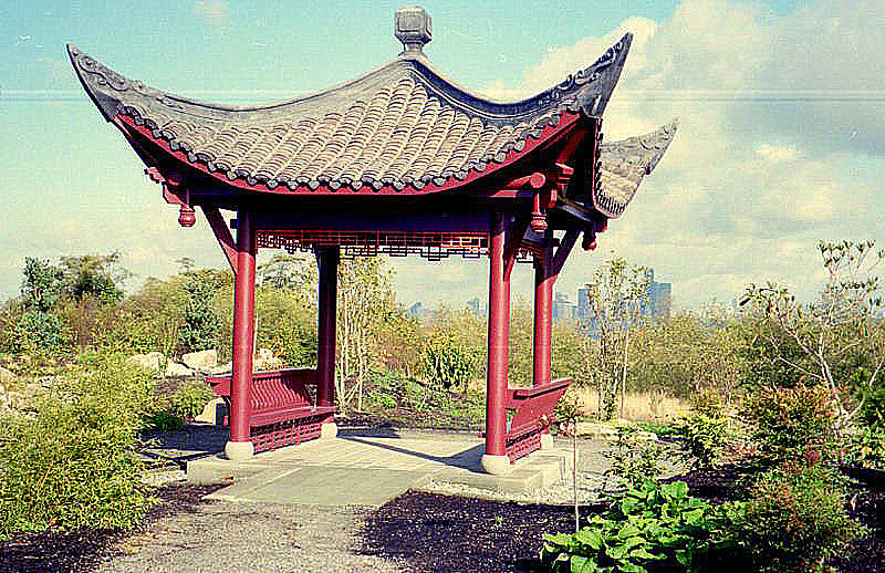 seattle photograph seattle chinese garden by maro kentros - Seattle Chinese Garden