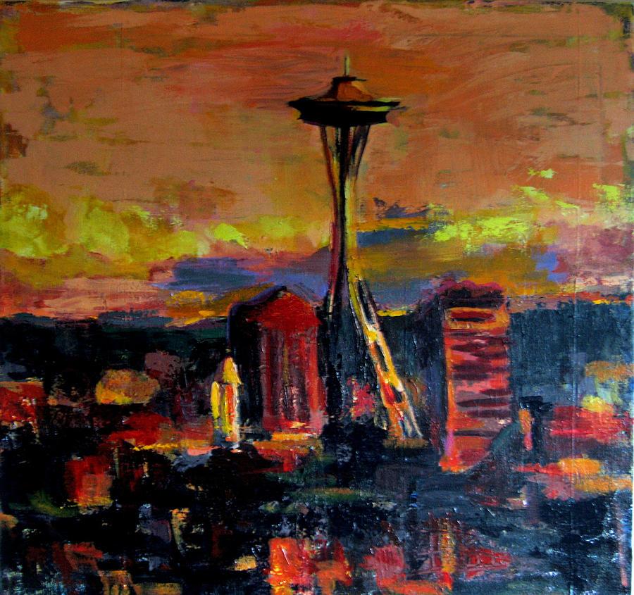 Seattle Dawn 2010 by Carla Dreams