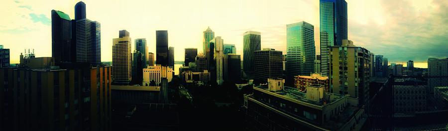 Seattle - Downtown Photograph