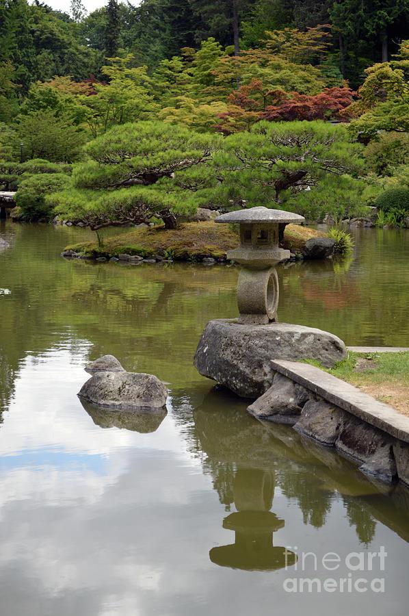 Seattle Japanese Gardens 1 by Carol Eliassen