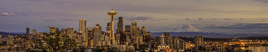Seattle Panorama Photograph