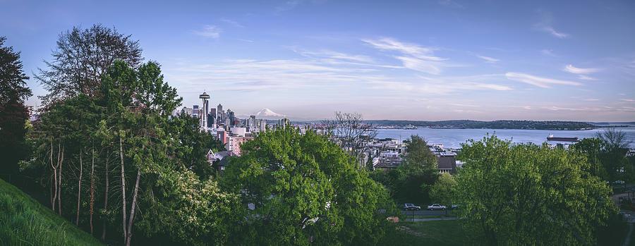 Seattle Photograph - Seattle Panorama by Manuela Durson