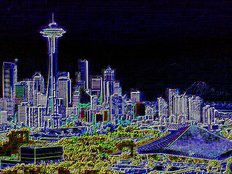 Seattle Photograph - Seattle Quintessence by Tim Allen