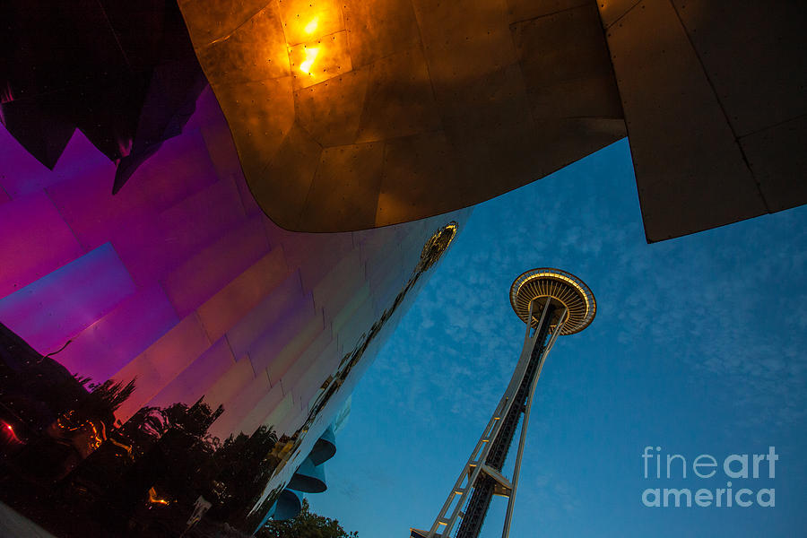 Seattle Scenes by Stephen McDowell