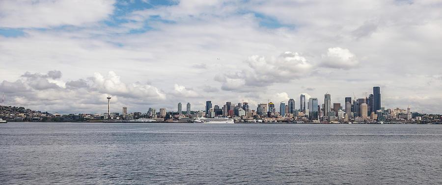 Seattle Skyline 1 by Lindy Grasser