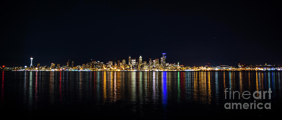 Seattle, Washington Skyline #2 by Patrick Fennell