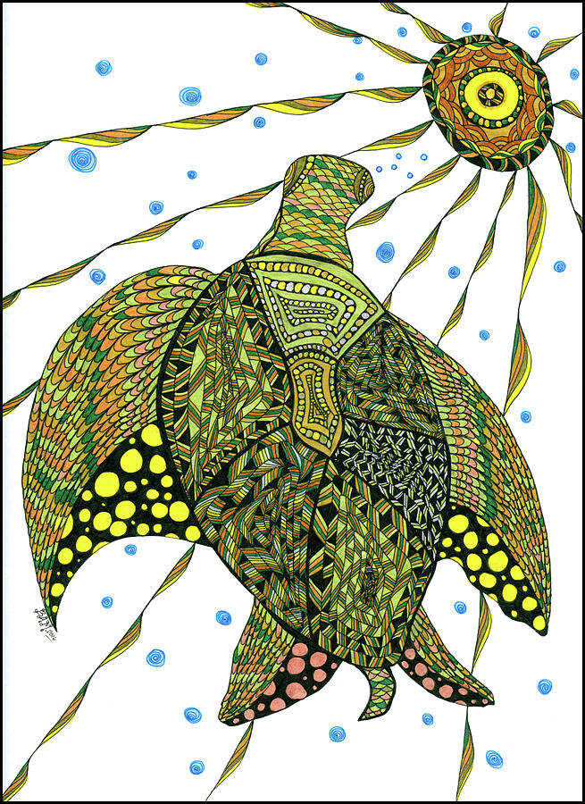 Seaturtle  by Barbara McConoughey