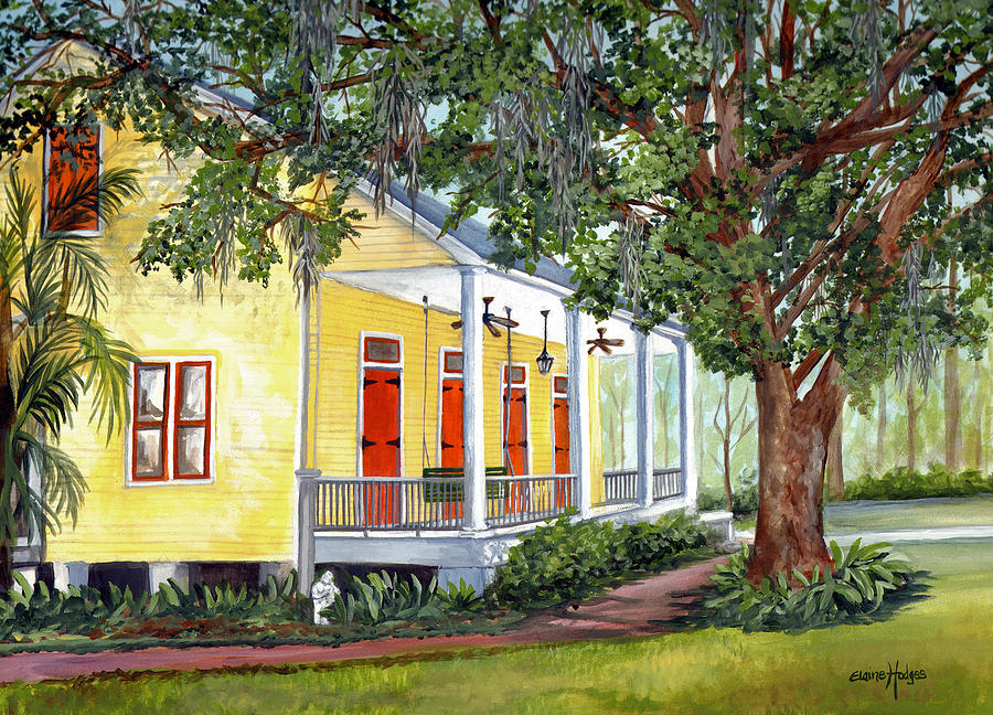 New Orleans Plantation Home Art