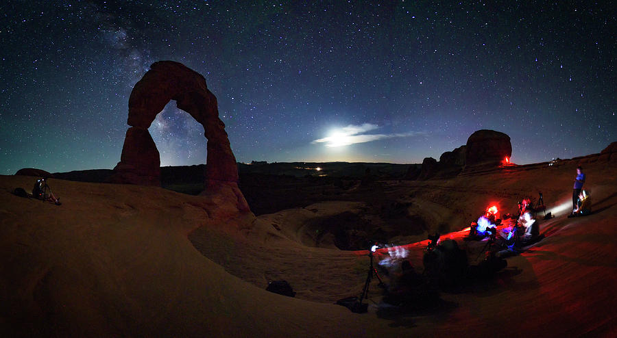 Seclusion At Delicate Arch Photograph